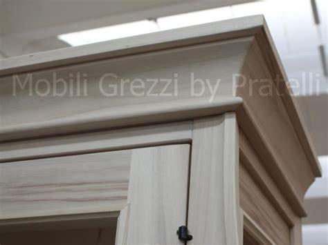 cornici per mobili vetrine grezze vetrina sagomata grezza 2 ante