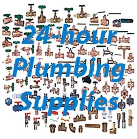 24 hour plumbing supplies and diy plumbers in