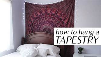 how to hang a picture how to hang a tapestry in 3 easy ways youtube