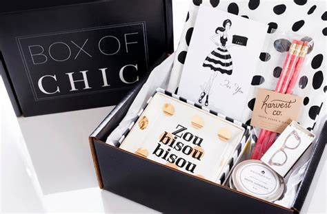 home decor subscription box box of chic a new home d 233 cor subscription box sarah sarna