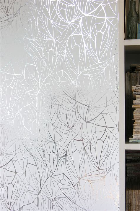 Wallpaper Uk 45cmx10m Silver Leaf leaf wallpaper silver and white monument interiors