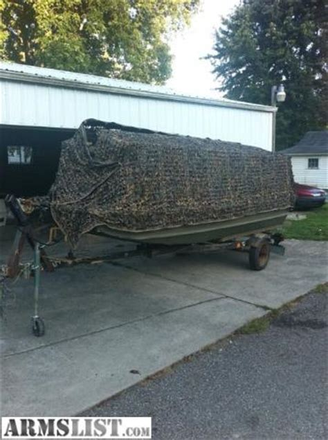 duck hunting boats for sale in ohio armslist for sale trade duck hunting fishing boat