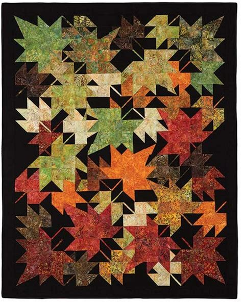 quilt pattern leaves new leaves quilt pattern keepsake quilting