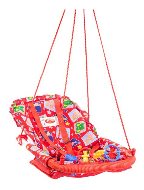 red baby swing buy jiya baby swing cotton red online in india kheliya
