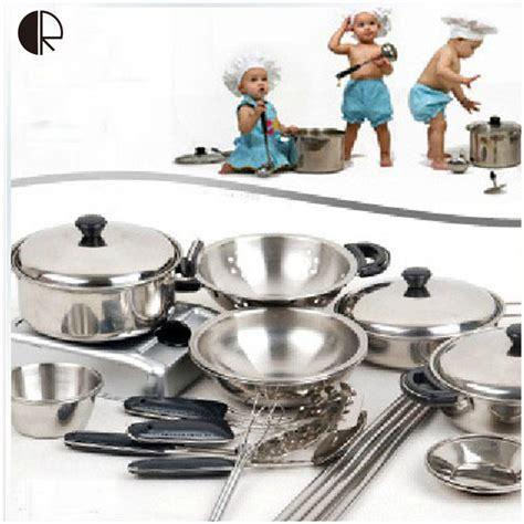 aliexpress kitchen accessories kids pretend play kitchen toys 18pcs set kitchenware