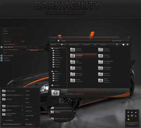 all black themes download windows 7 skins 21 styles to download