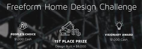 home design challenge there s still time to enter branch technology s freeform home design challenge 3dprint