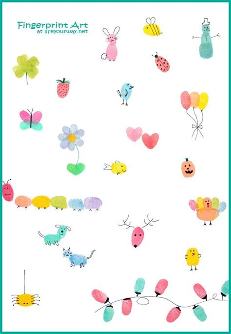 Thumb Print Cards Craft By Free Template by 25 Best Ideas About Fingerprint On