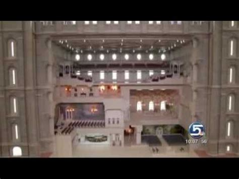 New Exhibit of Interior of Salt Lake Temple   YouTube