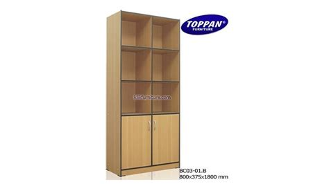buat rak buku simple rak buku minimalis bc 03 01b toppan agen furniture
