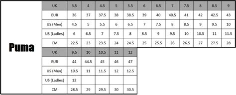 shoe size chart in cm india grandt s auto repair