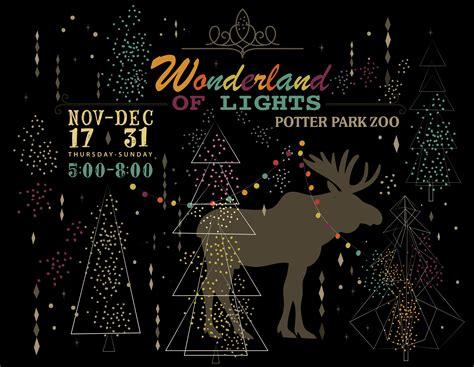 Wonderland Of Lights Potter Park Zoo Lights