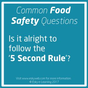 food safety top tips