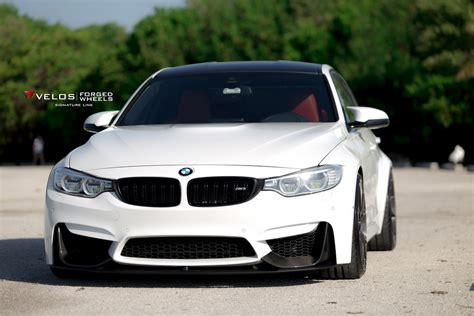 custom white bmw alpine white bmw m3 with aftermarket tuning parts
