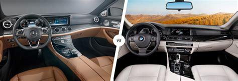 Bmw Vs Mercedes Interior by Mercedes E Class Vs Bmw 5 Series Comparison Carwow