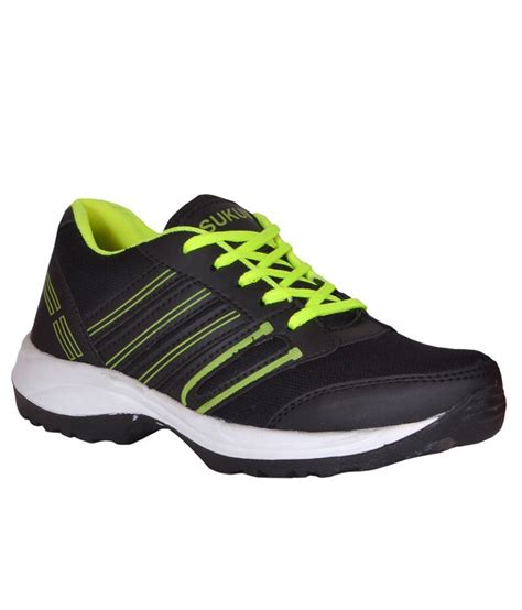 sukun black sports shoes buy sukun black sports shoes