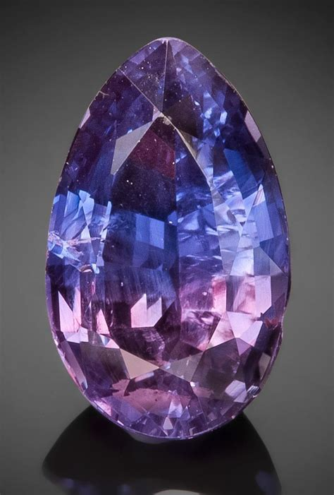 Blue Saphire 3 03 Ct image of gemstone bi color sapphire 3 03