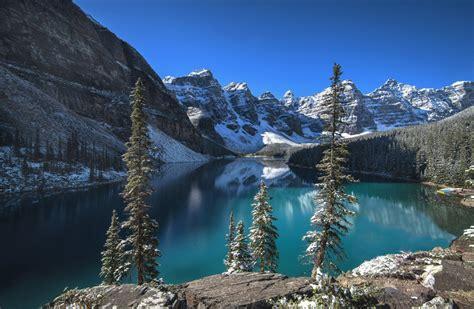 moraine lake banff national park albert canada lake