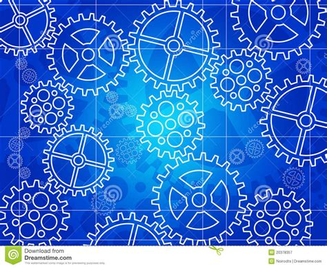 blueprint online free gear blueprint royalty free stock photography image