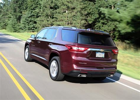 chevrolet traverse redesign specs towing capacity
