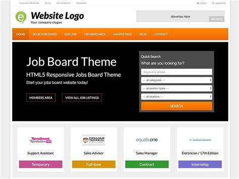 themes wordpress jobs 23 best job board wordpress themes plugins 2018 athemes