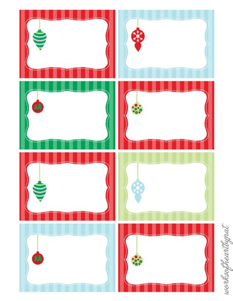 christmas design name tags 6 best images of free printable blank christmas labels
