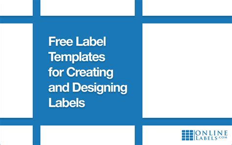 Free Label Templates For Creating And Designing Labels Onlinelabels Com Onlinelabels Templates
