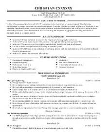 Environmental Engineer Sle Resume by Senior Manufacturing Engineer Resume