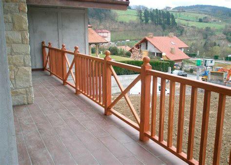 barandilla de madera exterior barandilla exterior barandillas exterior madera m with