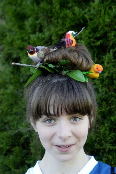 parrot hairstyle great crazy hairstyles for quot wacky hair day quot at school