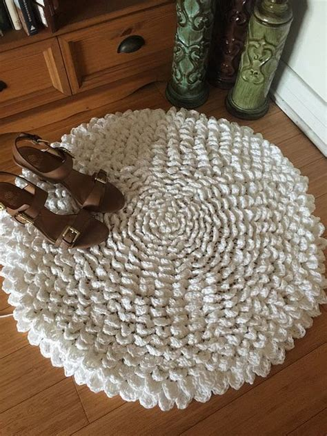 25 best ideas about crochet rug patterns on