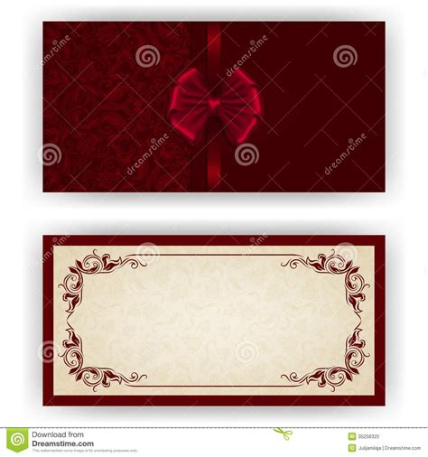 luxury invitation card template vector template for luxury invitation stock photo