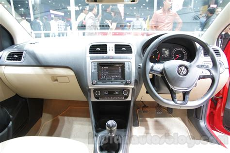 volkswagen polo highline interior vw polo highline plus in 7 live images indian