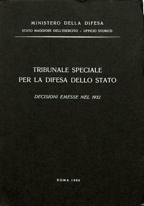 ufficio storico sme decisioni emesse nel 1932 rista esercito italiano