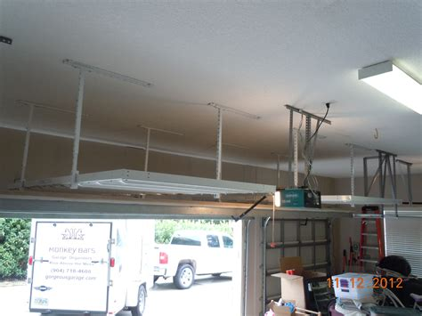 Garage Storage Systems Jacksonville Fl Jacksonville Overhead Storage Ideas Gallery Monkey Bars
