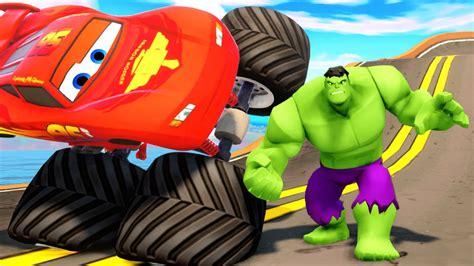 imagenes para relajar niños disney pixar cars truck hulk rayo mcqueen dibujos