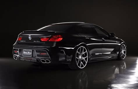 bmw 6 series gran coupe black bison automobile gazette