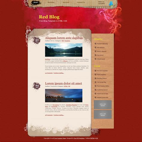 Css Web Templates by Free Css Templates Free Css Website Templates