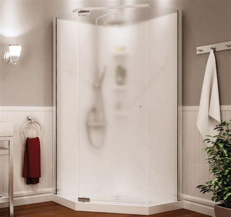 Showers Menards by Maax 174 Begonia 36 Quot Neo Angle Shower Kit Vapor Glass At Menards 174