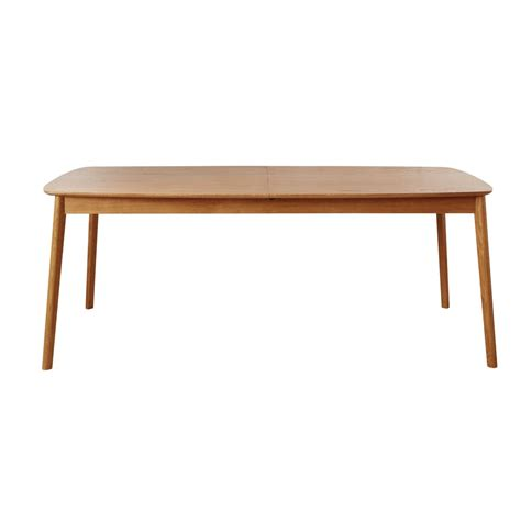 oak extendible 8 12 seater dining table w 200 300 cm