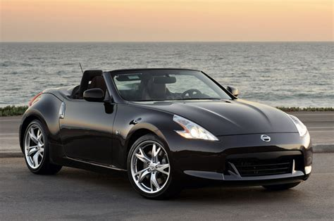 nissan convertible black all car collections nissan 370z roadster nissan 370z