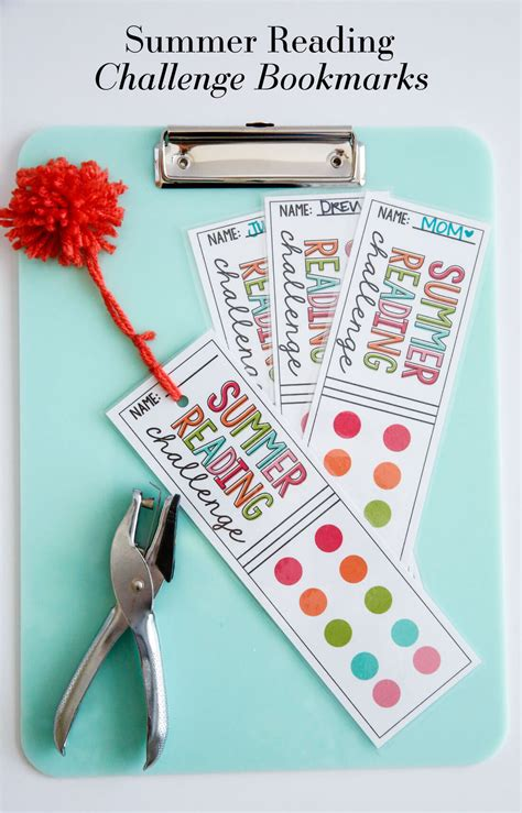 printable summer reading bookmarks printable summer rules thirty handmade days