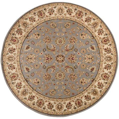 5 foot rugs tayse rugs elegance blue 5 ft 3 in x 5 ft 3 in indoor area rug 5377 blue 6