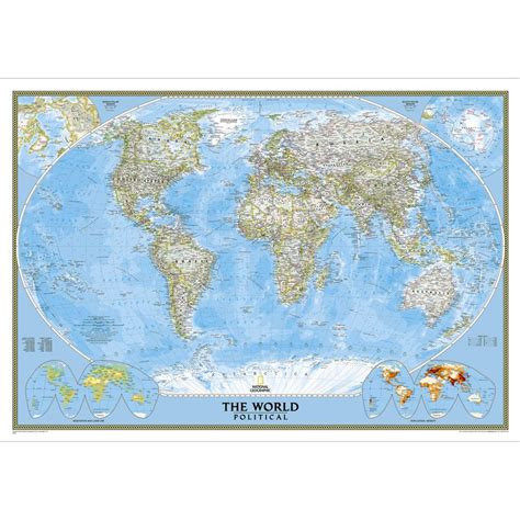 world classic pacific centered laminated national geographic reference map books the world for wall map laminated national