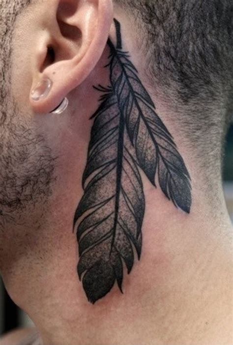 feather tattoo ear meaning best feather tattoo ideas best tattoo 2015 designs and