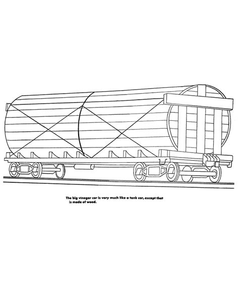coloring page railcar comfortable train car coloring pages ideas exle