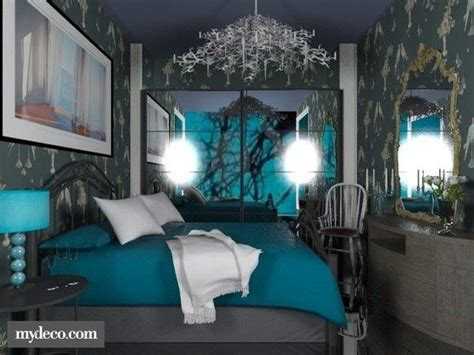 Turquoise Grey Bedroom by Turquoise Grey Bedroom For The Home