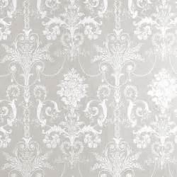 Purple and white damask wallpaper grey and white damask josette