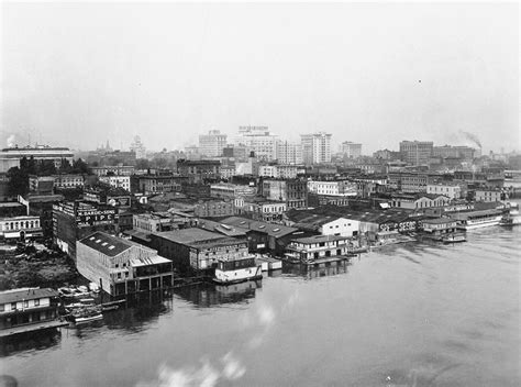 Portland Oregon Court Records Portland Waterfront West Side C 1922