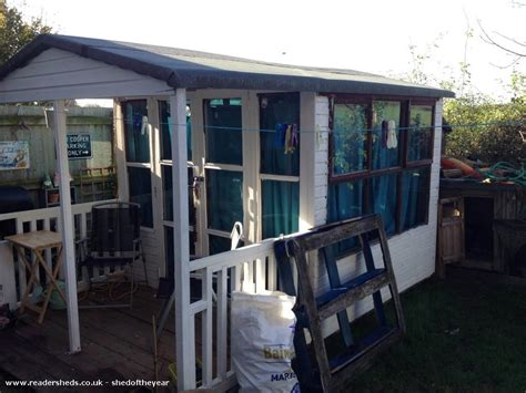 craft sheds the craft shed workshop studio from garden owned by lee